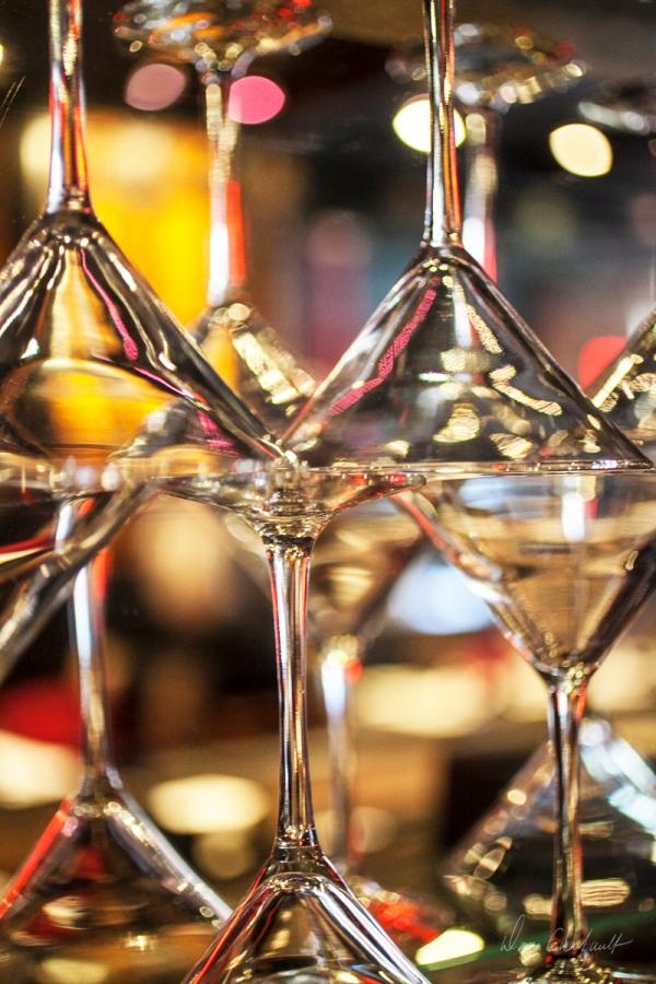 XO Cafe Martini Glasses